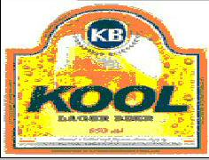 KB KOOL LAGER BEER