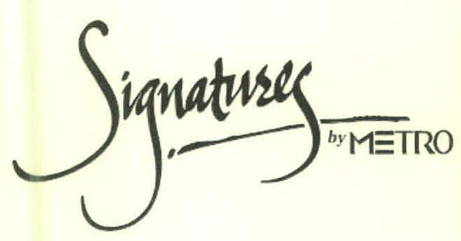 Signatury by METRO