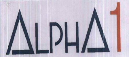 ALPHA 1 WITH LABEL