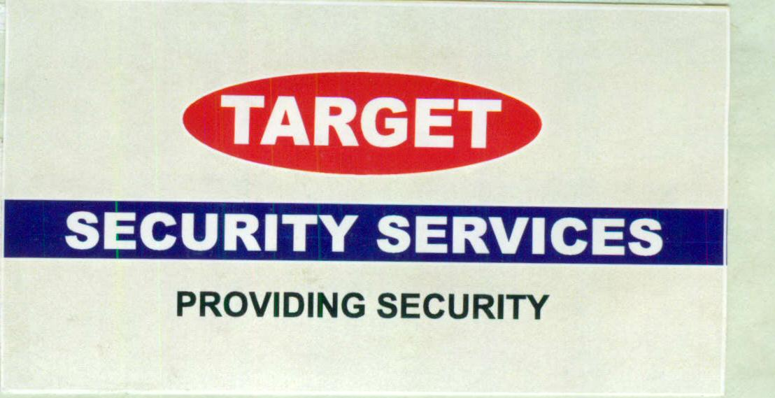 TARGET SECURITY SERVICES PROVIDING SECURITY (LABEL)