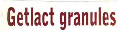 Getlact granules