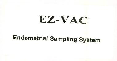 EZ-VAC Endometrial Sampling System