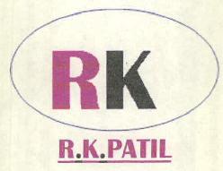 R K PATIL Trademark Detail   Zauba Corp