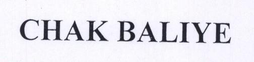 CHAK BALIYE