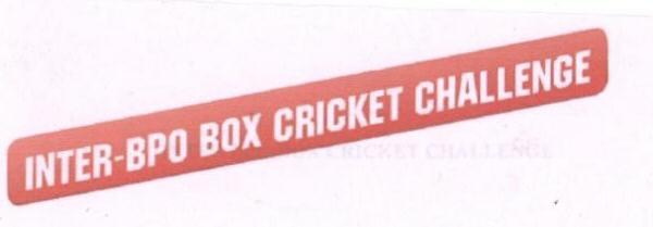 INTER-BPO BOX CRICKET CHALLENGE (LABEL)