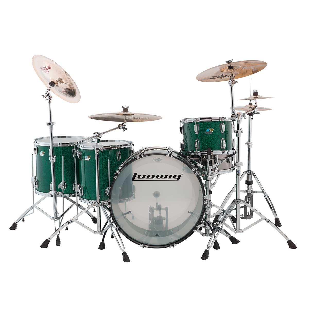 Ludwig Vista Lite Drums : ludwig 45th anniversary vistalite green sparkle ebay ~ Vivirlamusica.com Haus und Dekorationen