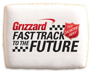 Grizzard, The Salvation Army & 1-800-Bakery Logo Cookies