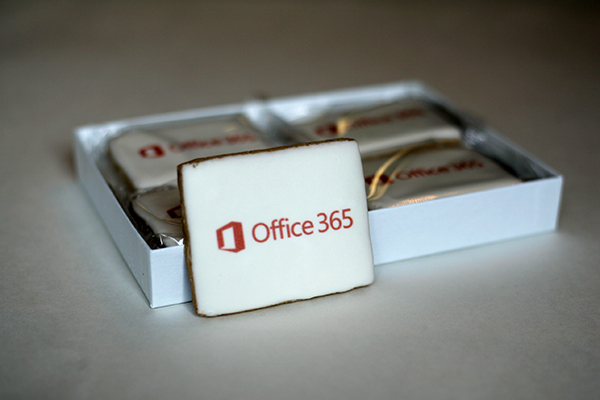 logo cookie gifts for employees