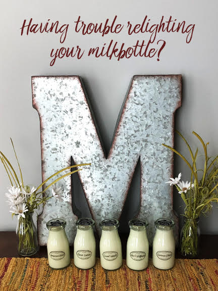 How To: Relight Milkbottle Candles
