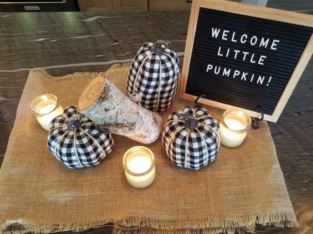 Welcome Little Pumpkin!