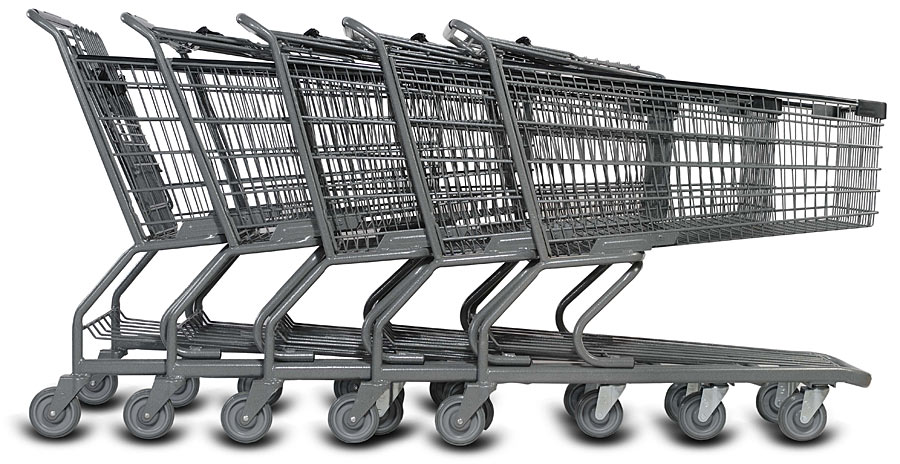 Metal Shopping Carts