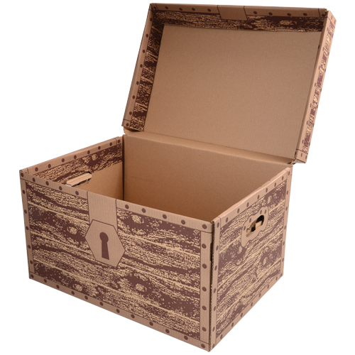 Beautiful Cardboard Treasure Chest GO05