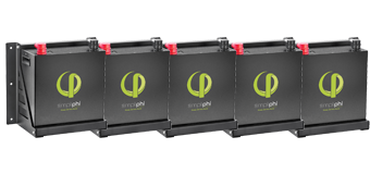 SimpliPhi lithium-ion battery upgrade kit