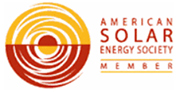 American Solar Energy Society membership badge