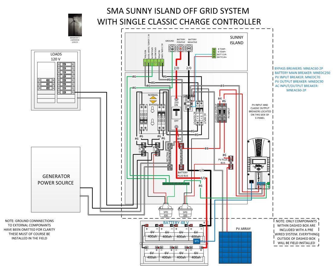 MNSI6048-CLA150 wiring diagram