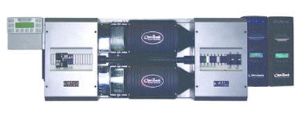 OutBack FLEXpower TWO VFXR pre-wired dual inverter system