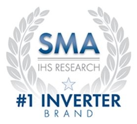 SMA voted top inverter brand by IHS 5 years in a row