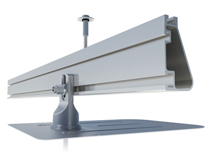 IronRidge solar panel roof mounting system