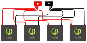 SimpliPhi Lithium LFP Battery wiring diagram