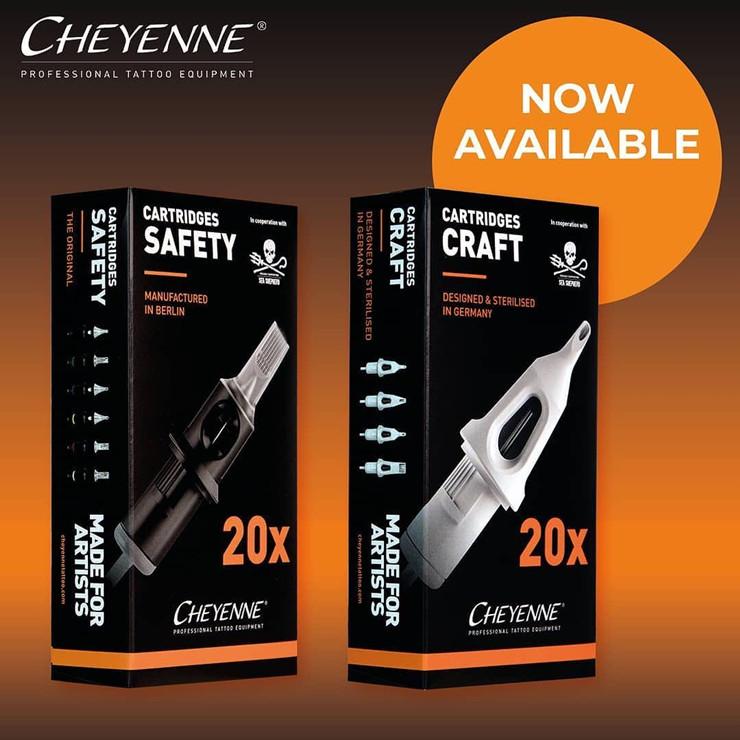 Cheyenne Hawk Safety Cartridges (Hawk Needles)