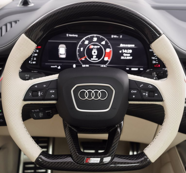 Q5, SQ5 Mk2 Flat-Bottom Steering Wheel Guide