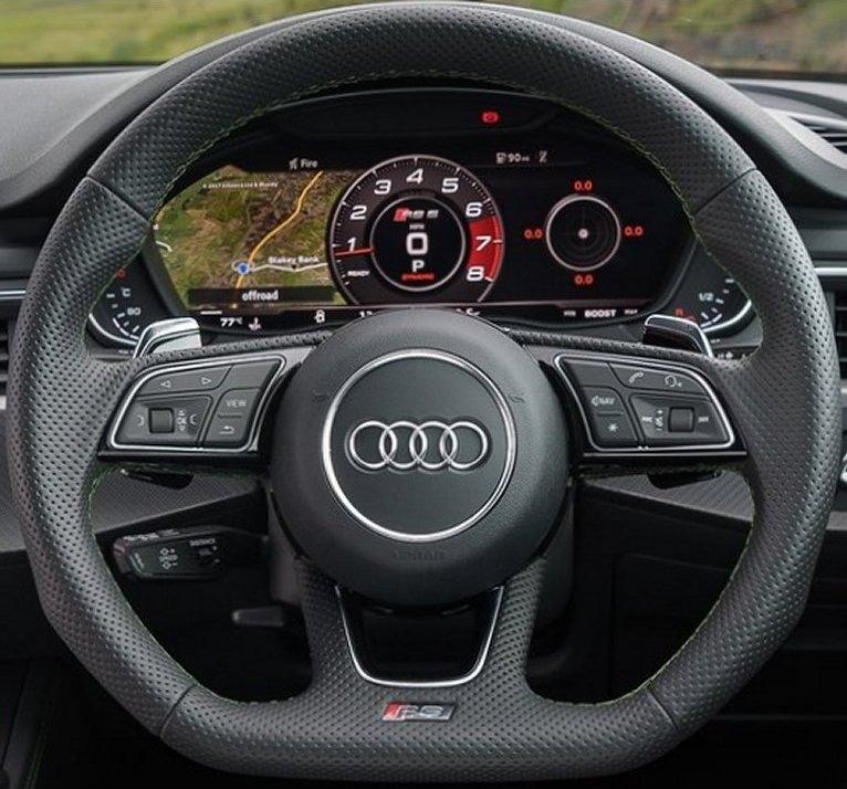 Audi A4 B8 Steering Wheel Upgrade :)