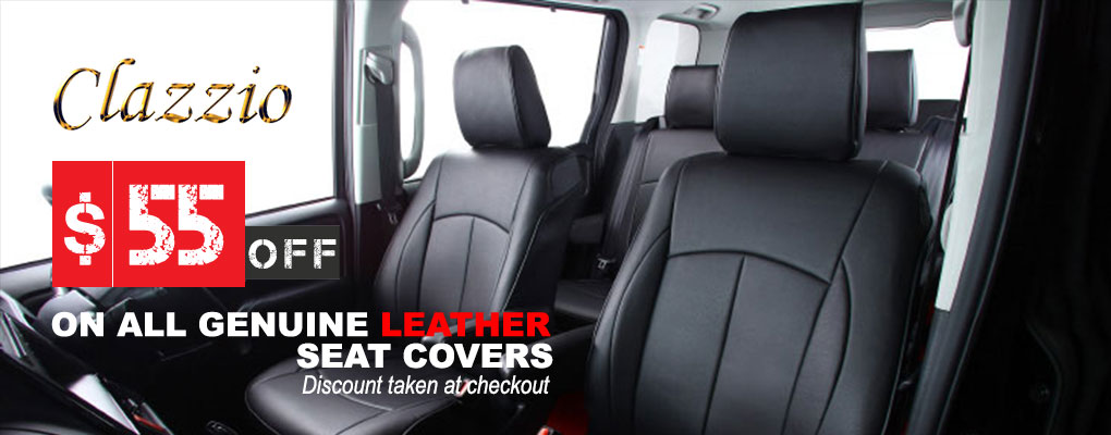 Clazzio Seat Covers Promo at AutoEQ.ca