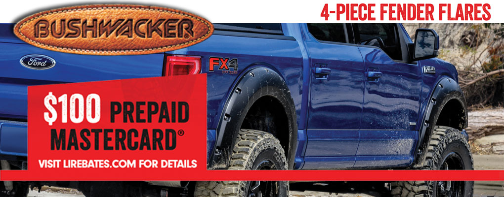 Bushwacker Rebate at www.AutoEQ.ca