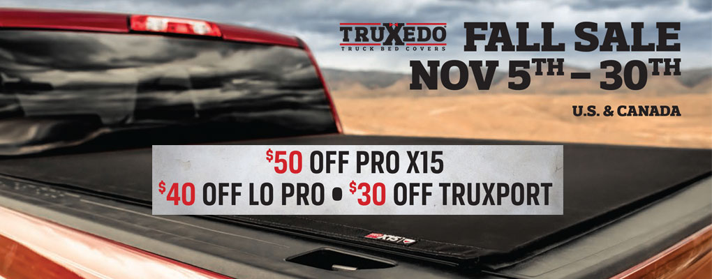 TruXedo Promo at www.AutoEQ.ca
