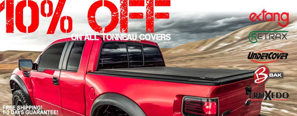 10% Off all tonneau covers