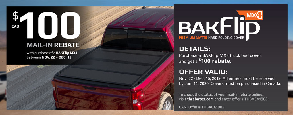Bak Industry MX4 and BakBox Promo at www.AutoEQ.ca