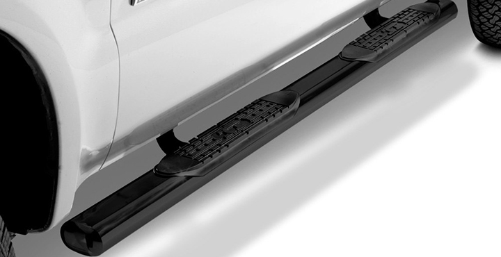 TrailFX 4' Oval Tube Side Steps - AutoEQ.ca