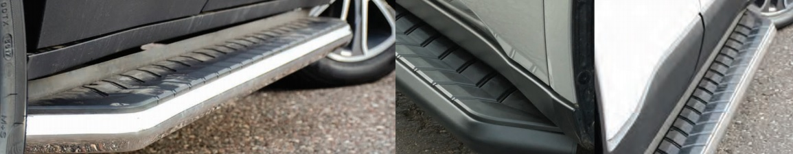 ARIES AeroTread® Stainless Steel SUV Running Boards