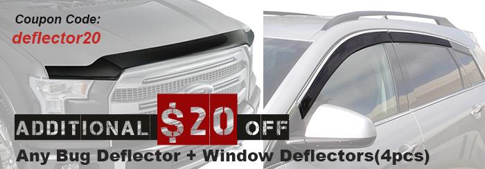 $20 Off Deflectors