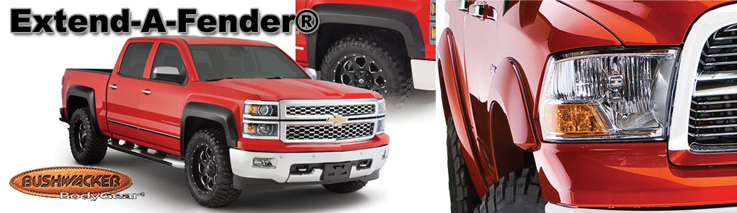 Bushwacker Extend-A-Fender Flares - AutoEQ.ca