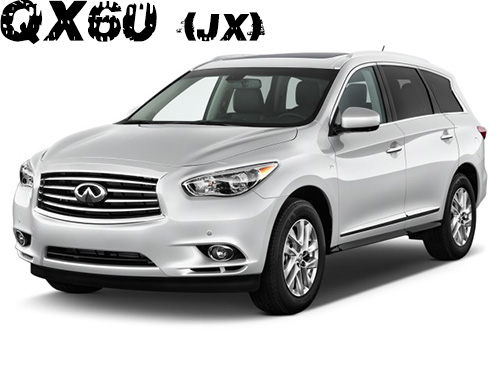 Infiniti QX60 and JX