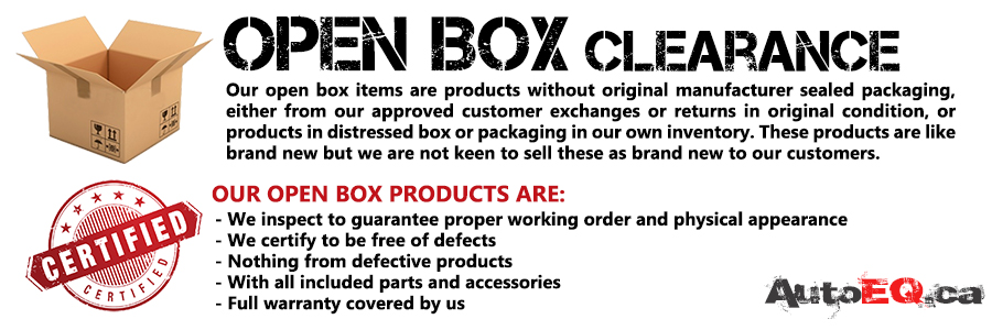 Open Box Clearance