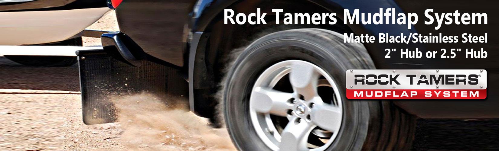 Rock Tamers MudFlap System - Mud Flaps