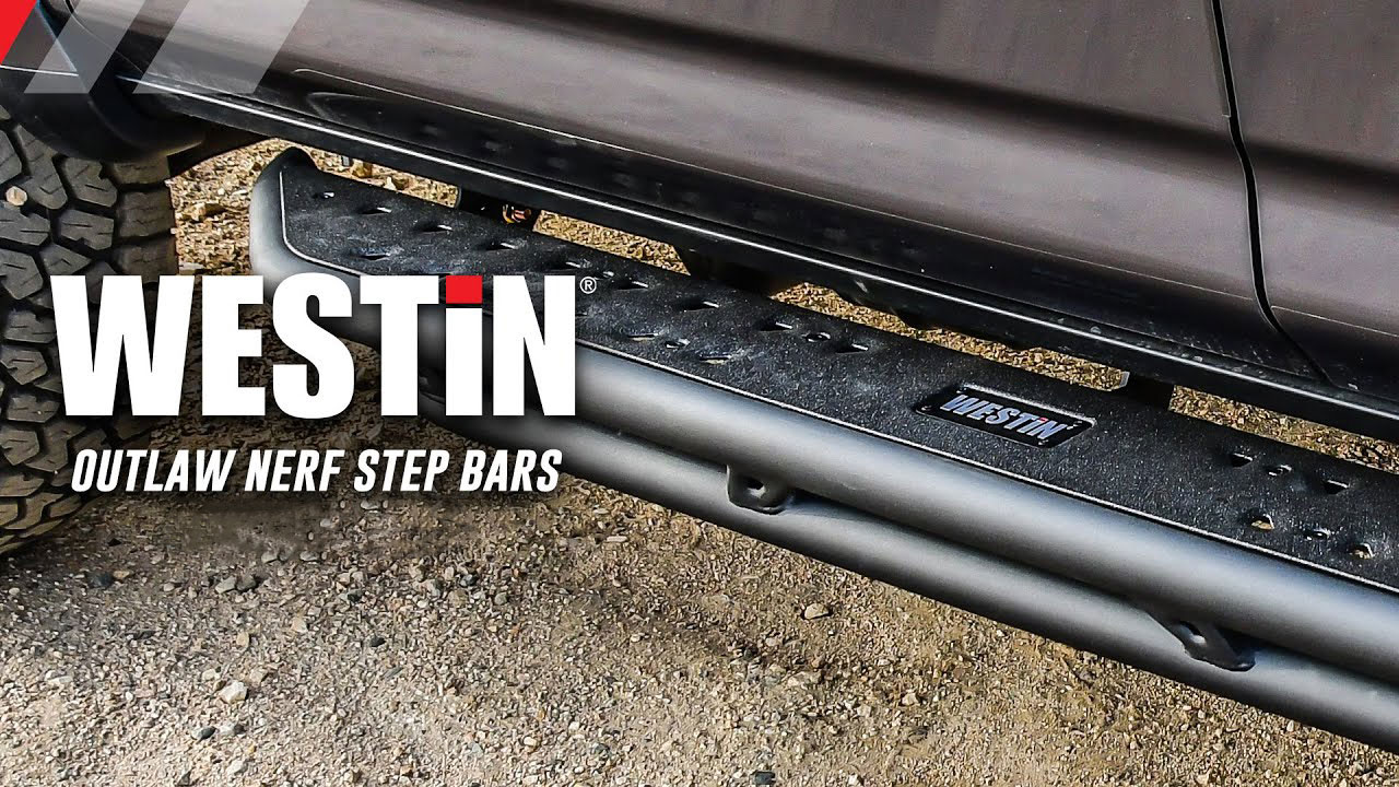 Westin HDX Textured Black Drop Steps