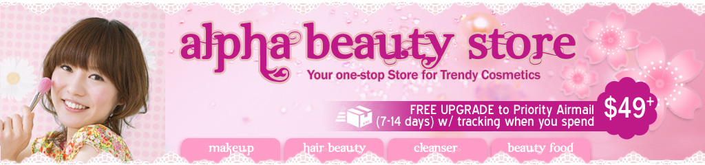 Free shipping offer valid for any items under the store category <MAKEUP>