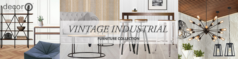 Vintage Industrial Style Furniture