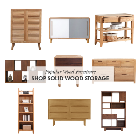Shop Modern Wood Storage & Cabinets