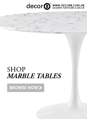 Shop Marble Tables, Marble Dining Tables and Coffee Tables at Decor8 Furniture Hong Kong