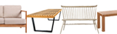 Modern Wood Sofas and Benches