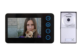 single button video intercom