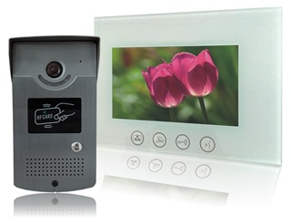 Villa video intercom 6-wire