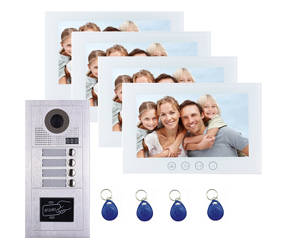 4 Button Video Intercom