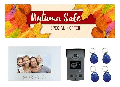 Autumn Sales Video Intercom