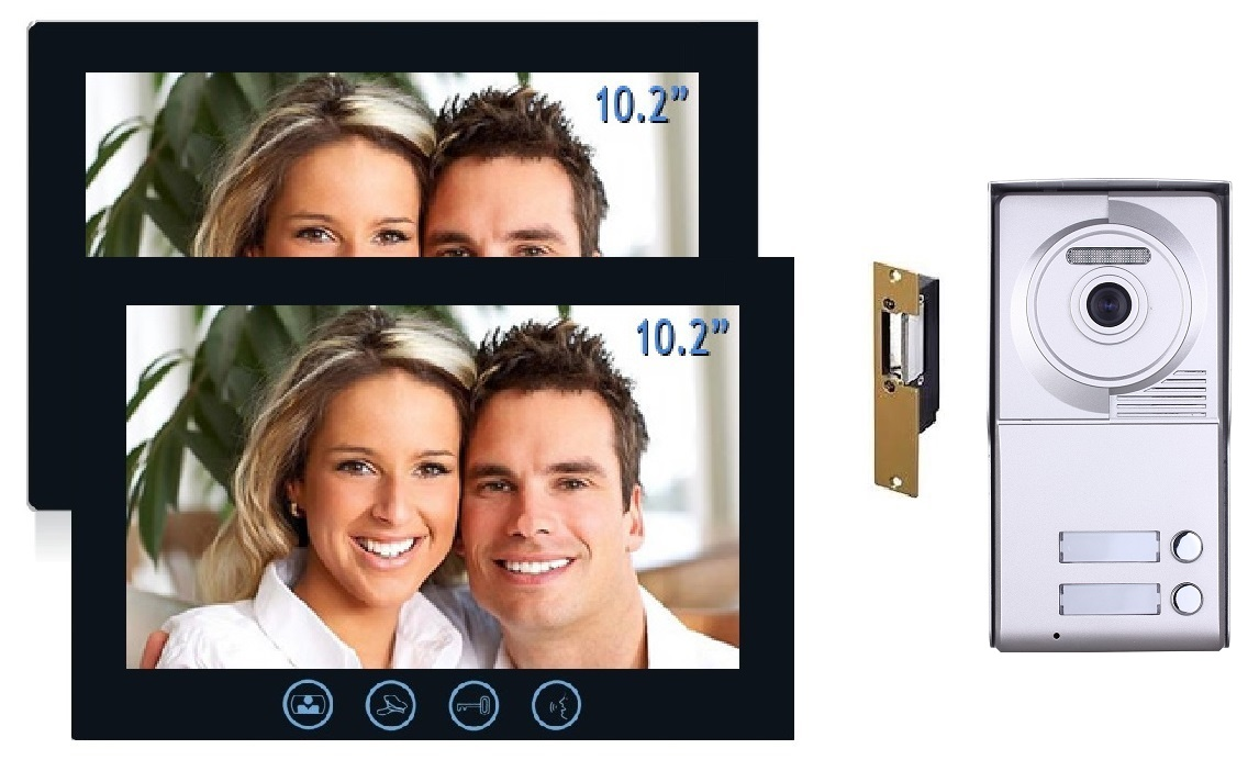 two tenant video entry system