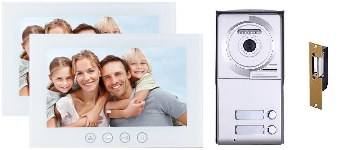 Two button video intercom system